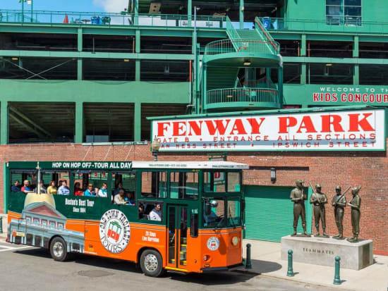 USA_Boston_Fenway Park_Old Town Trolley