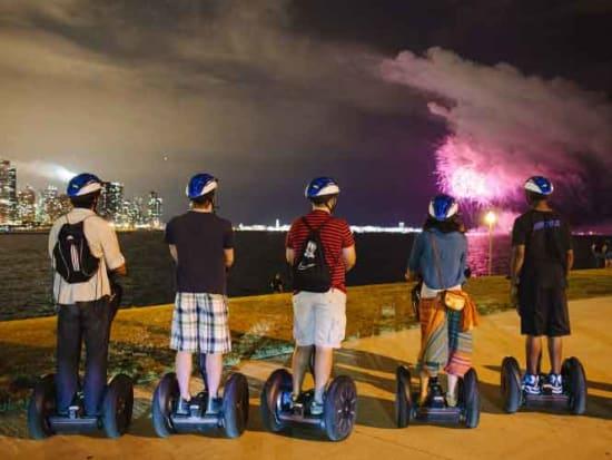 Chicago Navy Pier Summer Nights Fireworks Segway Tour