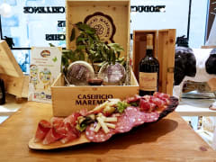 aperitivo, meat, cheese, platter, Florence, wine