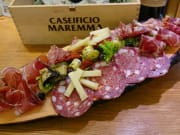 aperitivo, meat, cheese, florence, tasting, italy