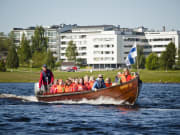 Riverboat cruise in Lapland - Rovaniemi (27)