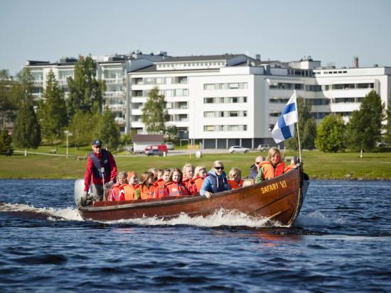 Riverboat cruise in Lapland - Rovaniemi (27)