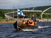 Riverboat cruise in Lapland - Rovaniemi (23)