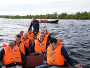 Riverboat cruise in Lapland - Rovaniemi (8)