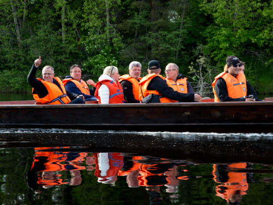Riverboat cruise in Lapland - Rovaniemi (4)