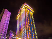 Crown Regency Hotel _ Towers 2014- Cebu-Night Shot