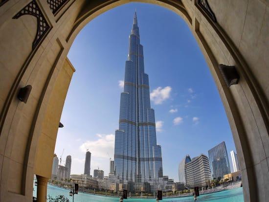 New Dubai Half Day Tour With Burj Khalifa Observation Deck