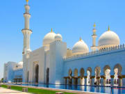 UAE Abu Dhabi Sheikh Zayed Mosque
