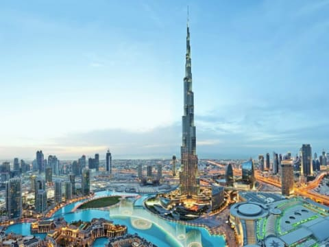 Burj Khalifa (Dubai Top Attractions