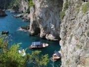 Boat in Capri