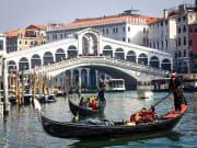 venice, gondola, italy, grand canal