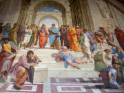 The School of Athens, Stanze di Raffaello, Raphael