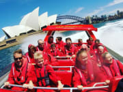 sydney harbour jet boat ride near opera house