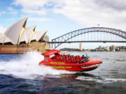 oz jet boating opera house bridge