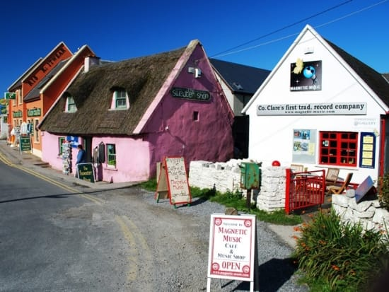Doolin Village for Lunch