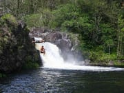 Hawaii_Big Island_Umauma Falls_Rappel and River