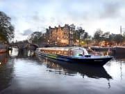 netherlands, amsterdam, canal cruise