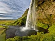 Iceland south coast waterfals