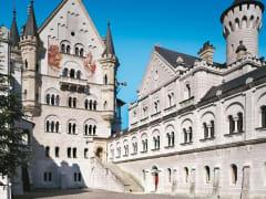 Neuschwanstein Upper Courtyard