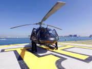 Private helicopter flight in Dubai helidubai