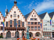 Germany, Frankfurt, Römer Town Hall