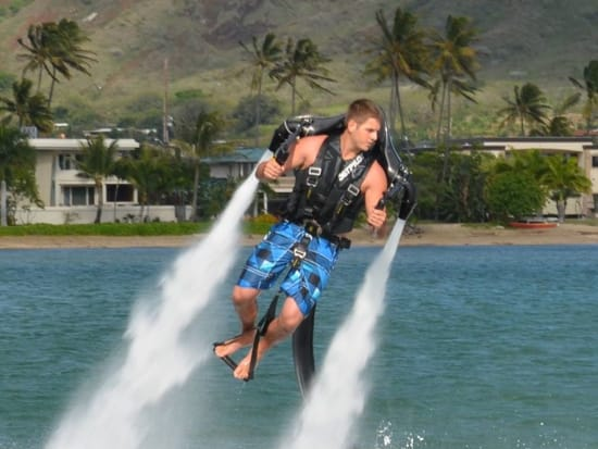 Hawaii_Oahu_H2O Sports_Jet pack ride