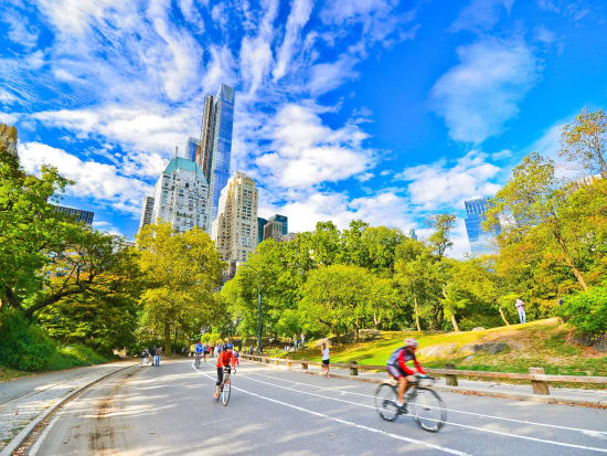 セントラルパークを自転車で周ろう!<自転車レンタル>
