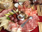 cheese, meat, food tasting, florence, foodies