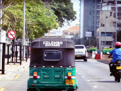 Colombo by Tuk Tuk