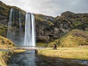Seljalandsfoss Waterfalls, South Coast, Iceland