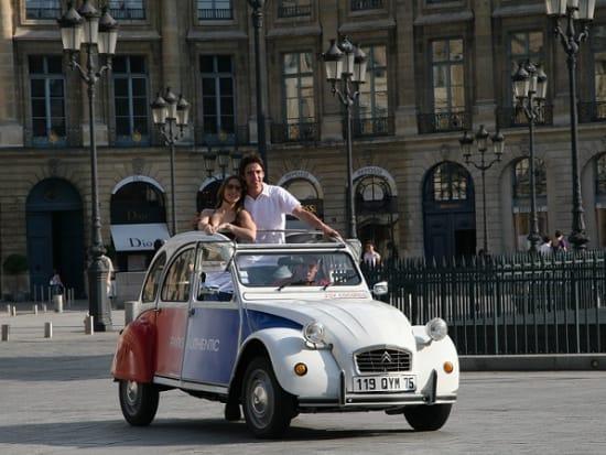 Romantic Tour in Paris by 2CV