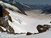 Aletsch Glacier, jungfraujoch, jungfrau