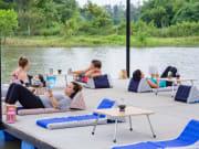 14.Museflower Retreat & Spa Chiang Rai.relaxing on lake