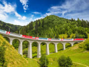 Bernina Express, Switzerland, train