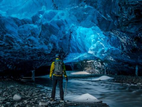 氷の洞窟/スーパーブルー