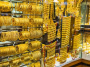 Gold in Dubai souk