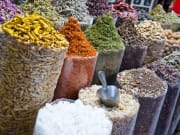 Spices in Dubai souk