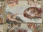 IRome, Vatican, Sistine Chapel, Creation of Adam