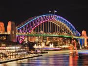 Vivid_Sydney_Festival harbour bridge
