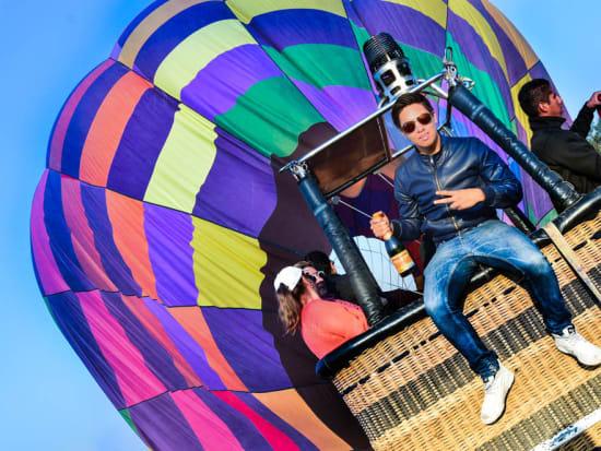 メキシコシティ気球2