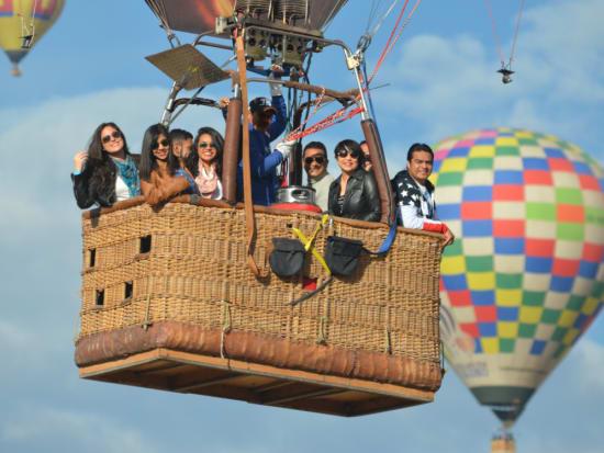 メキシコシティ気球4