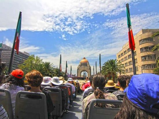 メキシコシティオープントップバス2