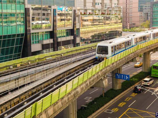 Taipei Metro Ride Taiwan