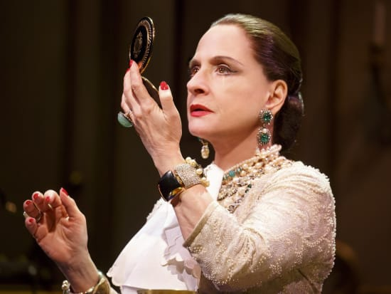 Patti LuPone in WAR PAINT, photo by Joan Marcus 2016-crop