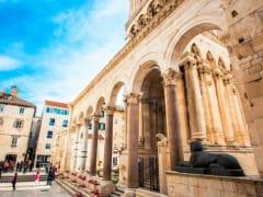 Diocletian's Palace, Diocletian, split, croatia