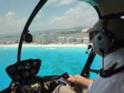 カンクンヘリコプター3