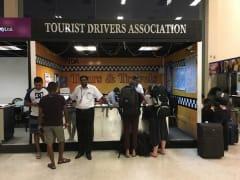 スリランカ空港タクシー送迎1
