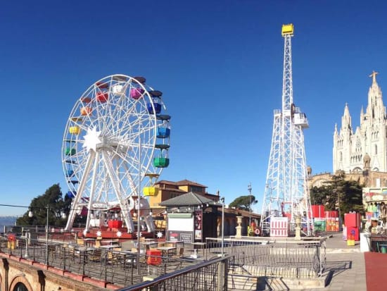 Barcelona, Tibidabo Amusement Park