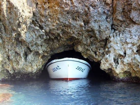 Blue-cave-entrance