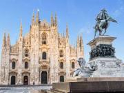 Vittorio Emanuele II, Piazza del Duomo, Milan